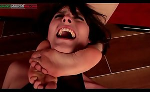 The Shooting - Lesbians Foot Domination and Scissorhold