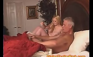 Old man eats BabySitters CREAM PIE