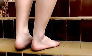 Cams4free.net - Dirty Foot Teen nearly School Uniform