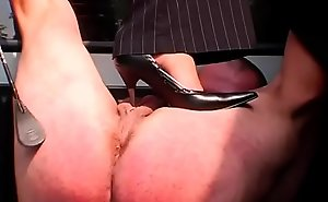 Honey enjoys foot fetish licking her bitch goddess feet and bawdy cleft